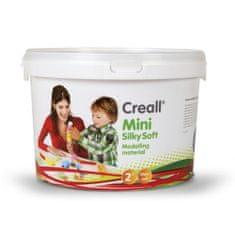 Creall Plastelína Mini Silky Soft 5 farieb vo vedierku