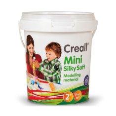 Creall Plastelína Mini Silky Soft 5 pastelových farieb vo vedierku