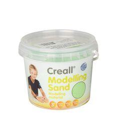 Creall Kinetický piesok 750g zelený