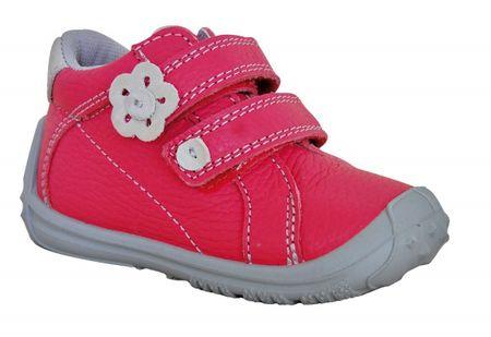 Protetika dievčenská celoročná obuv LENA 23 ružová