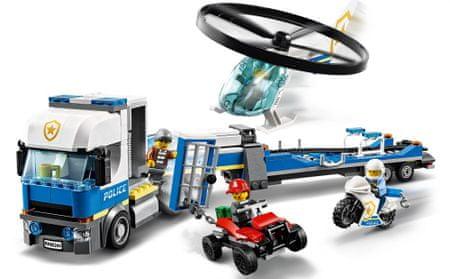 LEGO City Police 60244 Policijski helikopterski prevoz