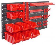 Prosperplast Stenski organizator z 10 škatlami za orodje Orderline (PPNTBNP4R)