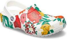 Crocs natikači Classic Printed Floral Clog (206376-10D), cvetlični motiv