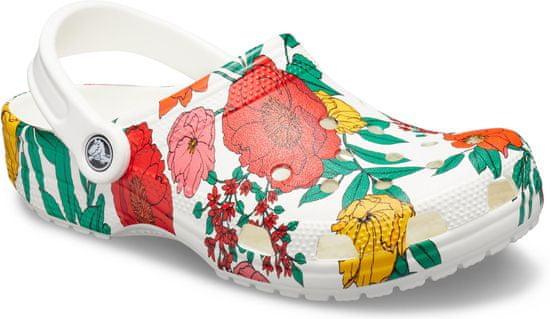 Crocs Classic Printed Floral Clog White/Floral M4W6 (36-37)
