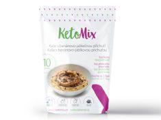 KetoMix KetoMix Proteinová kaše s banánovo-jablečnou příchutí 10 porcí