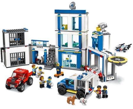 LEGO zestaw City Police 60246 Posterunek policji