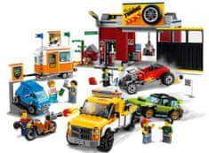 LEGO City 60258 Delavnica za dirkalna vozila