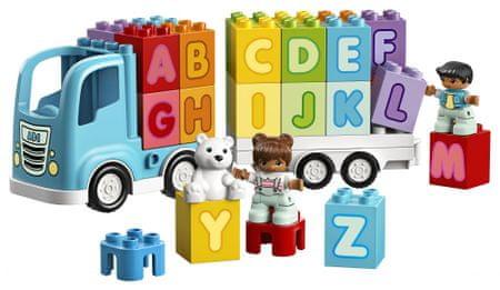 LEGO DUPLO 10915 Teherautó ábécével