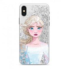 Ert Ochranný kryt - Disney Elsa - Pro iPhone 5/5S/SE - Stříbrný