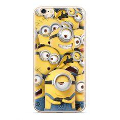 Ert Ochranný kryt - Mimoni - pro iPhone 6/6S - Žlutý