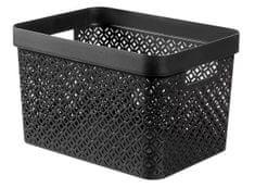 CURVER pudełko do przechowywania Terrazzo L czarne
