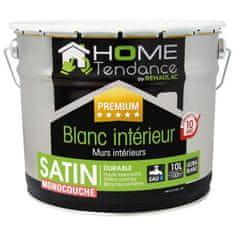 Home Tendance jednovrstvá saténová bílá akrylová barva - 10 litrů
