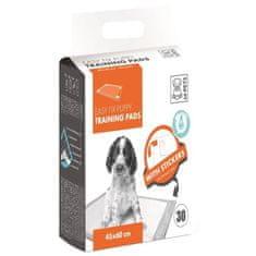 M Pets savá rohož pro štěně, 45x60 cm, 30 ks