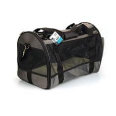 M Pets přepravní taška pro zvířata L, šedá