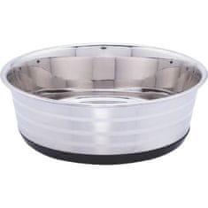 BUBIMEX miska na krmení psů z nerezové oceli 1,2 l