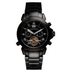 Jean Bellecour pánské analogové hodinky, černá