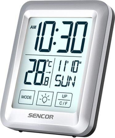 SENCOR termometr z zegarem SWS 1918