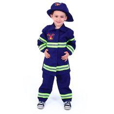 Dětský kostým Hasič - požárník vel. M