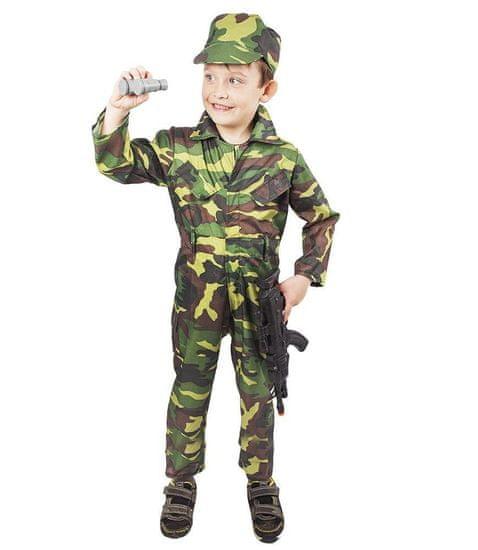 Kostým Army - vojak detský vel. M
