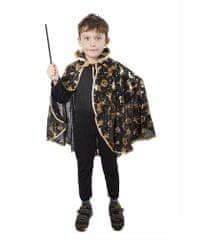 Karnevalový kostým plášť čarodějnický černý - dětský - Halloween