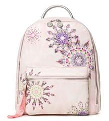 Desigual női világos rózsaszín hátizsák Luna Rock Nazc 20SAKP10