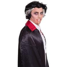 Parochňa čierna s bieli pruhmi / Upír - Drakula - vampír - Halloween