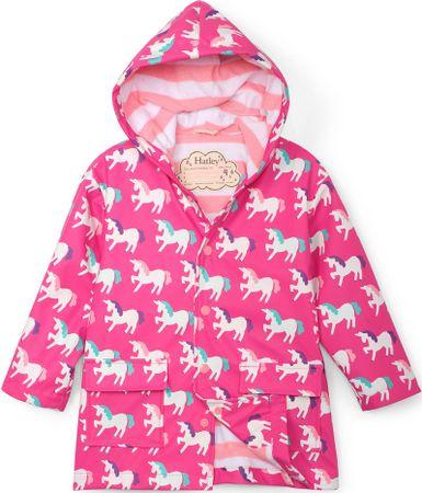 Hatley dekliški dežni plašč, ki spreminja barve, 98, roza