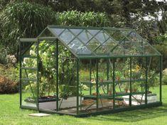 VITAVIA skleník VITAVIA VENUS 6200 číre sklo 3 mm zelený
