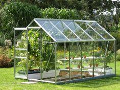 VITAVIA skleník VITAVIA VENUS 6200 číre sklo 3 mm strieborný