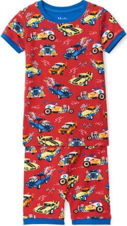 Hatley fiú pizsama, 98, piros