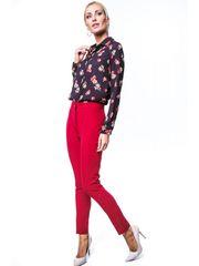 Amando Červené elegantné nohavice MP44422