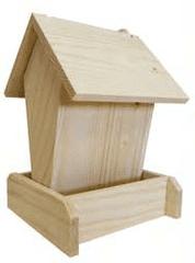 Portoss hranilica za ptice, 15 x 15 x 20 cm