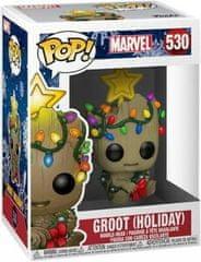 Funko POP! Marvel figura, Groot (Holiday) #530