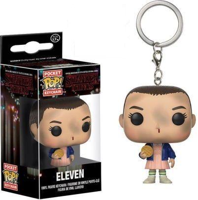 Funko POP! Stranger Things obesek za ključe, Eleven w/Eggo