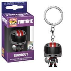 Funko POP! Fortnite S2 privjesak za ključeve, Burnout