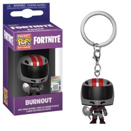 Funko POP! Fortnite S2 obesek za ključe, Burnout