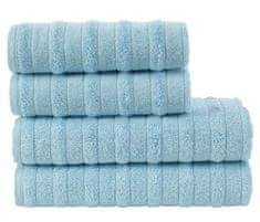 Carbotex Sada froté ručníků a osušek Hill Modrá