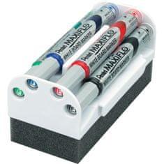 Pentel magnetno držalo in set markerjev (MWL5M-4N)