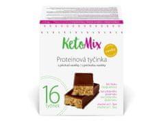 KetoMix KetoMix Proteinové tyčinky s příchutí vanilky 16 porcí