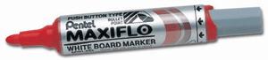 Pentel marker za belo tablo, rdeč (MWL5M)