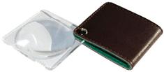 Viewlux Lupa s koženým pouzdrem 5×, 50 mm