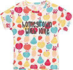 Boboli dievčenské tričko Organic Fruit