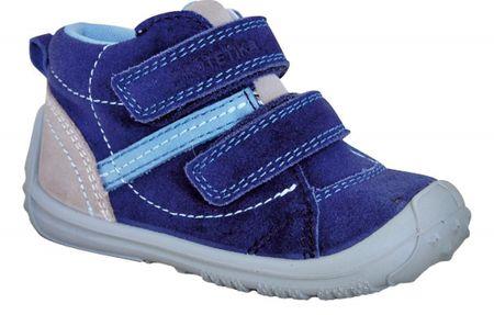 Protetika négyévszakos fiú cipő LEON, denim, 24, kék