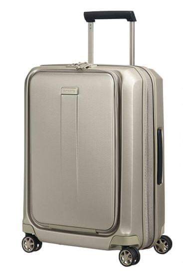 Samsonite Kabinový cestovní kufr Prodigy Spinner EXP S 40/47 l zlatá