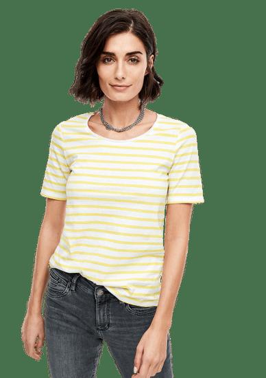 s.Oliver dámske tričko 04.899.32.6022 42 žltá