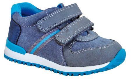 Protetika chlapčenská celoročná obuv DASTY tyrkys 23 modrá