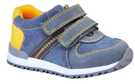 Protetika chlapčenská celoročná obuv DASTY yellow 23 žltá