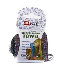 N-Rit Super ľahký uterák Purpurový M