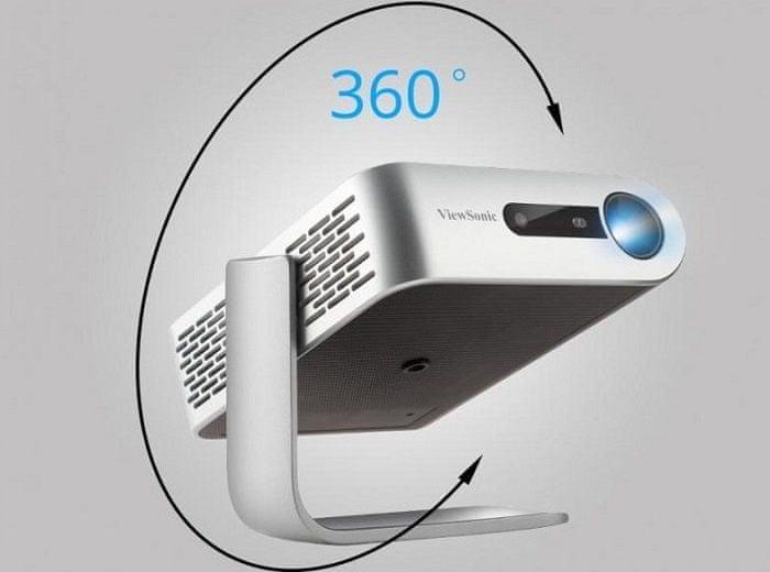 Projektor ViewSonic M1+ (M1+) 360° stojan přizpůsobení