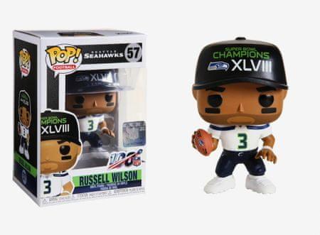Funko POP! NFL: Seattle Seahawks figura, Russell Wilson (Super Bowl Champions XLVIII) #57
